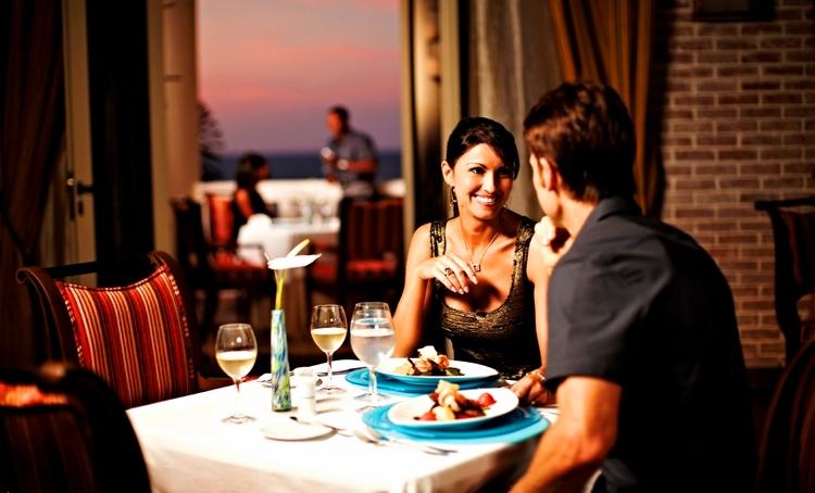 Iberostar Rose Hall Grand--couple dining
